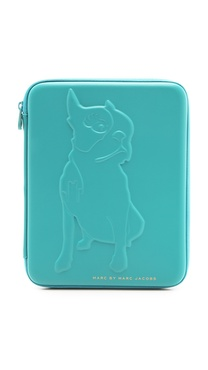 Marc by Marc Jacobs Don't Sweat My Pet Tech Olive Tablet Case