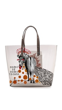 Marc by Marc Jacobs Animal Clear Tote
