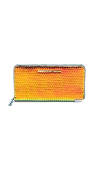 Marc by Marc Jacobs Karma Chameleon Slim Zip Wallet