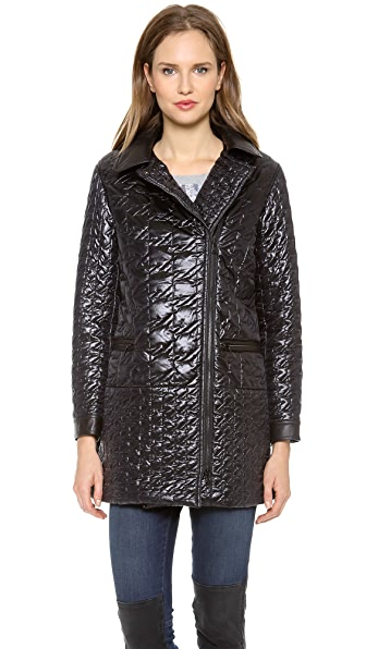 Marc by Marc Jacobs Logan Solid Puffer Coat