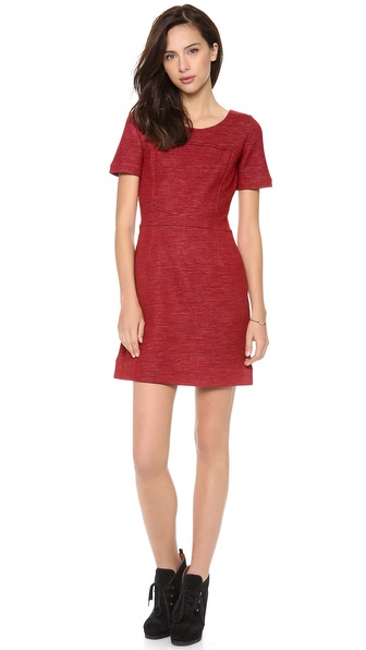 Marc by Marc Jacobs Gertrude Double Face Wool Dress