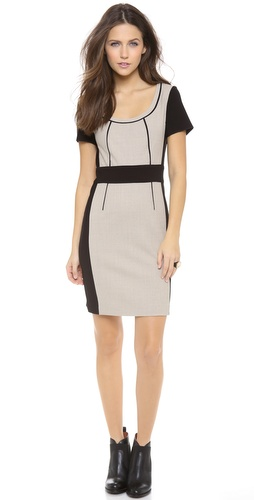 Marc by Marc Jacobs Two Tone Wool Dress at Shopbop / East Dane
