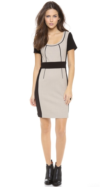 Marc by Marc Jacobs Two Tone Wool Dress