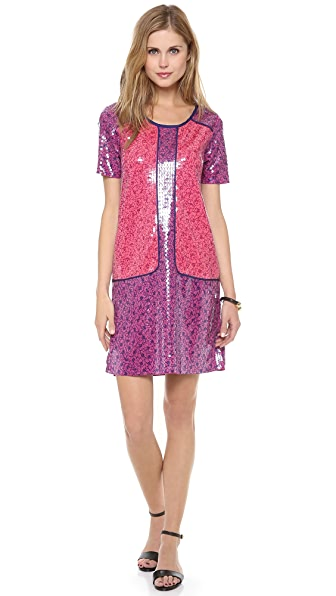 Marc by Marc Jacobs Viola Sequin Print Jersey Dress