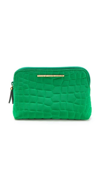 Marc by Marc Jacobs In a Bind Croc Embossed Cosmetic Case