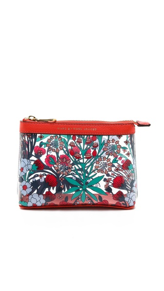 Marc by Marc Jacobs Clearly Clear Landscape Zip Cosmetic Case