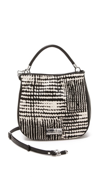 Marc by Marc Jacobs Too Hot To Handle Haircalf Hobo