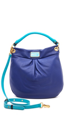 Marc by Marc Jacobs Classic Q Colorblock Hillier Hobo at Shopbop / East Dane