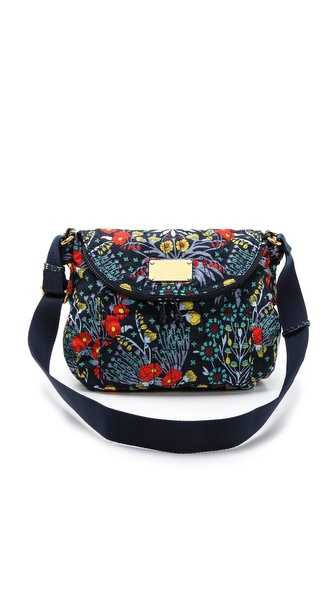 Marc by Marc Jacobs Pretty Nylon Botanical Print Natasha Cross Body Bag