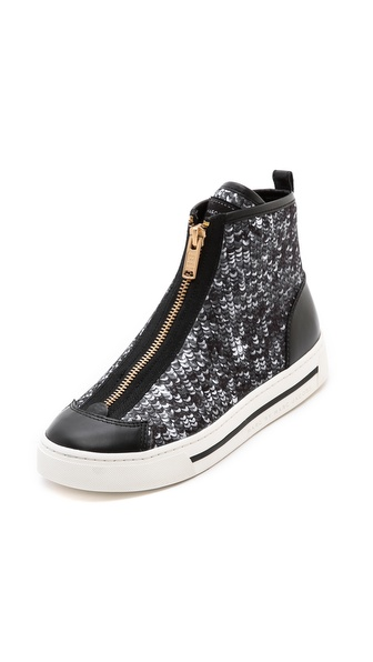 Marc by Marc Jacobs Sequin Zip Sneakers