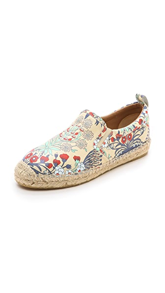 Marc by Marc Jacobs Garden Print Espadrille Flats