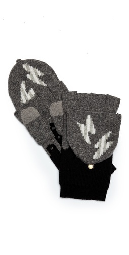 Marc by Marc Jacobs Idle Wild Pop Top Mittens at Shopbop / East Dane