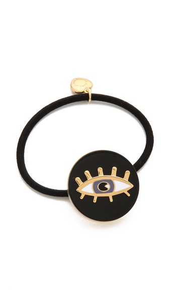 Marc by Marc Jacobs Dynamite Eye Coin Pony Tie