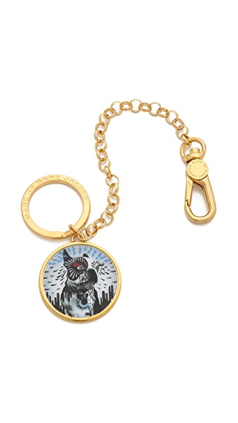Marc by Marc Jacobs Olive Lenticular Bag Charm