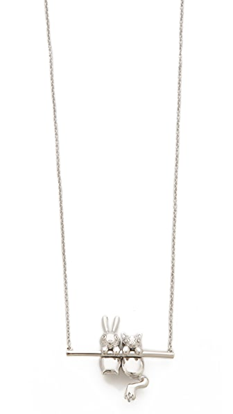 Marc by Marc Jacobs Bunny & Rue Pendant Necklace