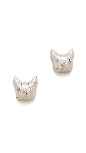 Marc by Marc Jacobs Olive Stud Earrings