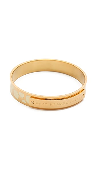 Marc by Marc Jacobs Dot Print Bangle Bracelet