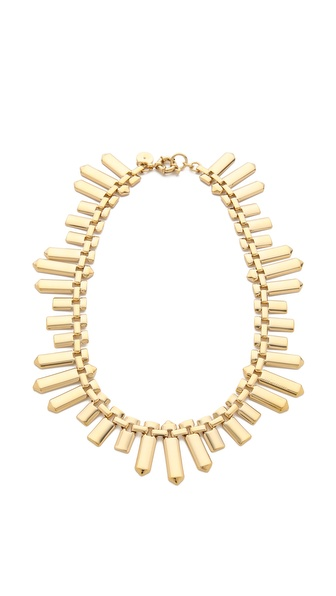 Marc by Marc Jacobs Plaque Chain Necklace