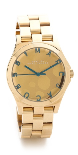 Marc by Marc Jacobs Henry Glossy Pop Watch at Shopbop / East Dane
