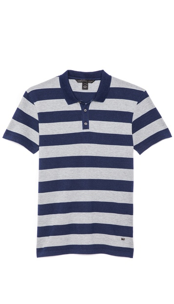 Marc by Marc Jacobs Alta Dena Stripe Polo