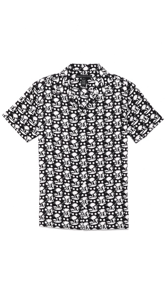 Marc by Marc Jacobs Tree Print Shirt