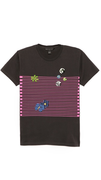 Marc by Marc Jacobs Flower Badge T-Shirt