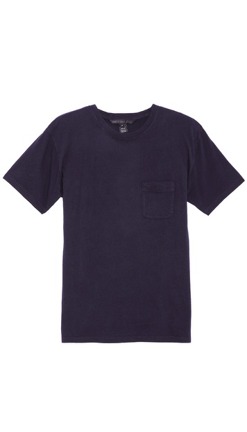 Marc by Marc Jacobs Solid Slub T-Shirt