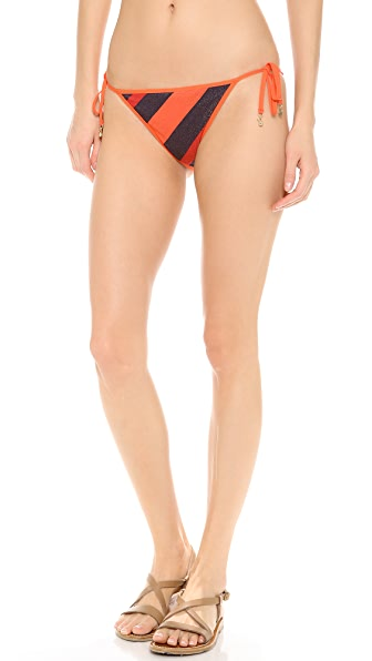 Marc by Marc Jacobs Cory Stripe Reversible Bikini Bottoms
