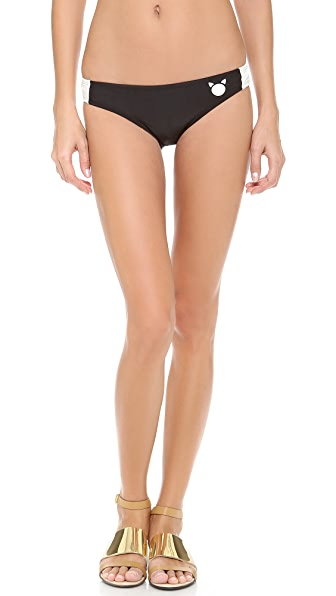 Marc by Marc Jacobs Matte Cat Bikini Bottoms