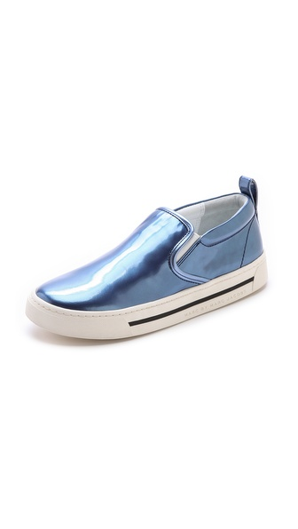 Marc by Marc Jacobs Cute Kicks Metallic Sneakers