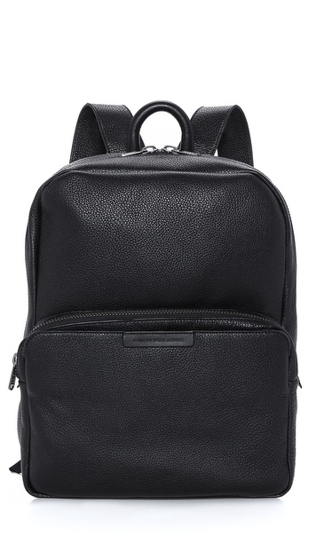 Marc By Marc Jacobs Classic Leather Backpack - Black