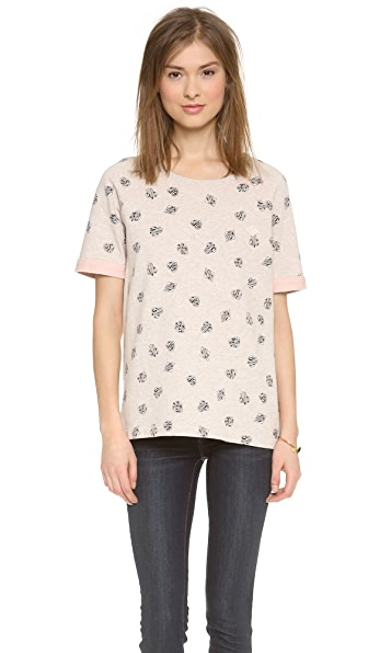 Marc by Marc Jacobs Playing Cards Short Sleeve Sweatshirt