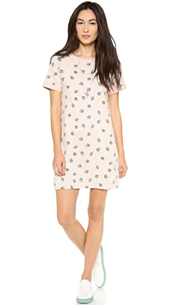 Marc by Marc Jacobs Playing Cards Sweatshirt Dress