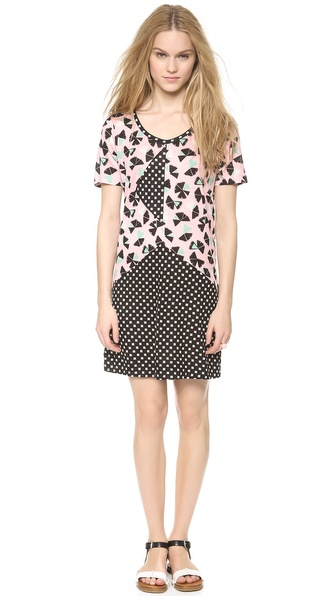 Marc by Marc Jacobs Amelia Printed Jersey Dress