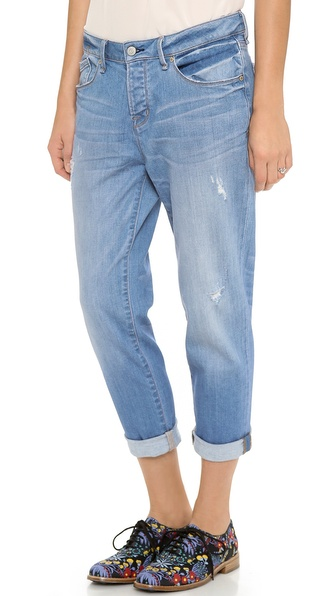 Marc by Marc Jacobs Jessie Cropped Boyfriend Jeans