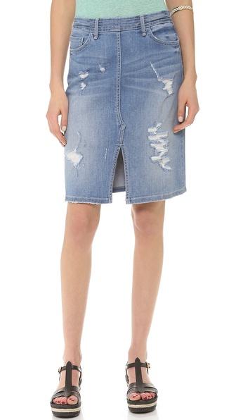 Marc by Marc Jacobs Denim Pencil Skirt