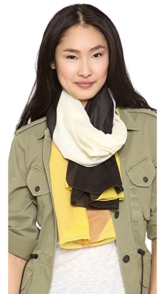 Marc by Marc Jacobs Deco Print Scarf