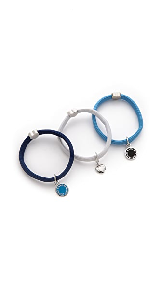 Marc by Marc Jacobs Classic Marc Pony Hair Ties