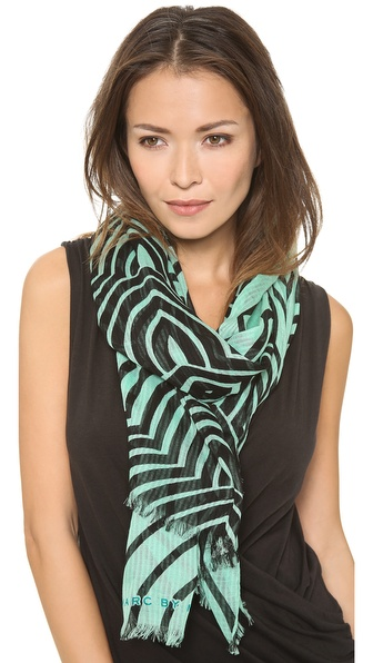 Marc by Marc Jacobs Radio Waves Scarf
