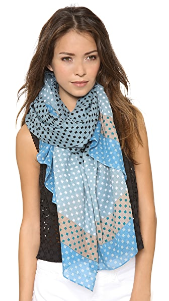 Marc by Marc Jacobs Block Print Scarf