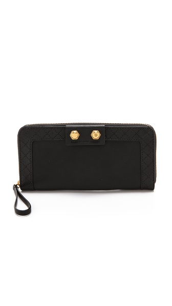 Marc by Marc Jacobs Lady Moto Slim Zip Wallet