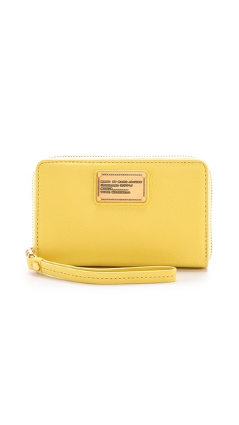 Marc By Marc Jacobs Classic Q Mildred Wallet - Banana Creme at Shopbop / East Dane
