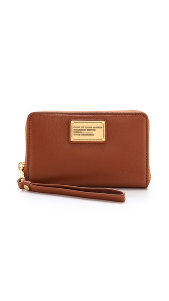 Marc By Marc Jacobs Classic Q Mildred Wallet - Smoked Almond at Shopbop / East Dane