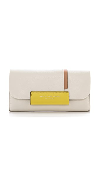 Marc by Marc Jacobs Round the Way Colorblock Trifold Wallet
