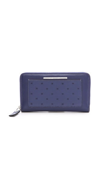 Marc by Marc Jacobs Know When to Fold'em Medium Zip Wallet