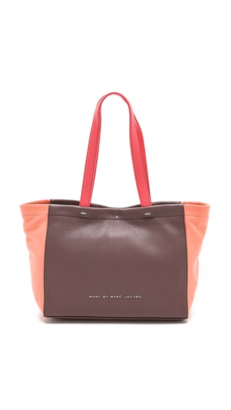 Marc By Marc Jacobs What'S The T Mini Tote - Dry Violet