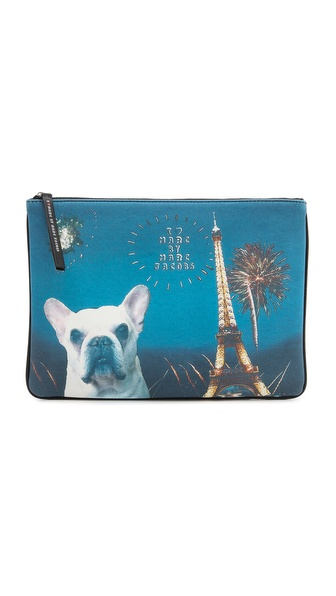 Marc By Marc Jacobs Pickles Pet Clutch - Black Multi at Shopbop / East Dane