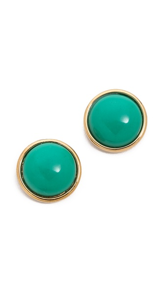 Marc by Marc Jacobs Geometic Big Dot Stud Earrings
