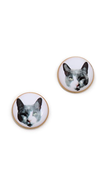 Marc by Marc Jacobs Kitty Stud Earrings