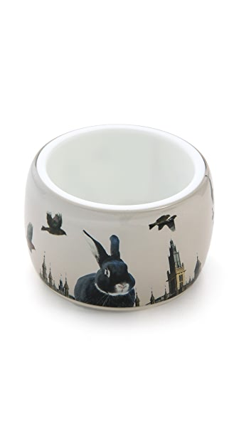 Marc by Marc Jacobs Bunny in London Bangle Bracelet